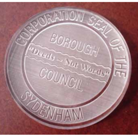 Sydenham Borough Council seal