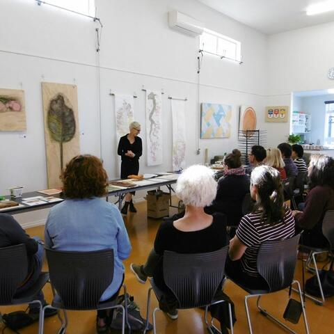 Interactive talk at Creative Arts Napier