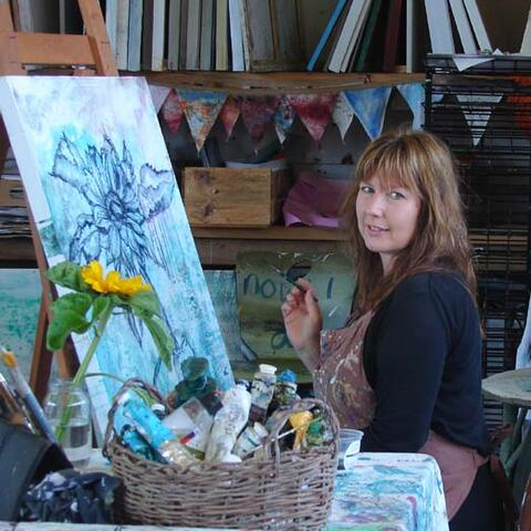Claire Delaney at Time for Art Studio