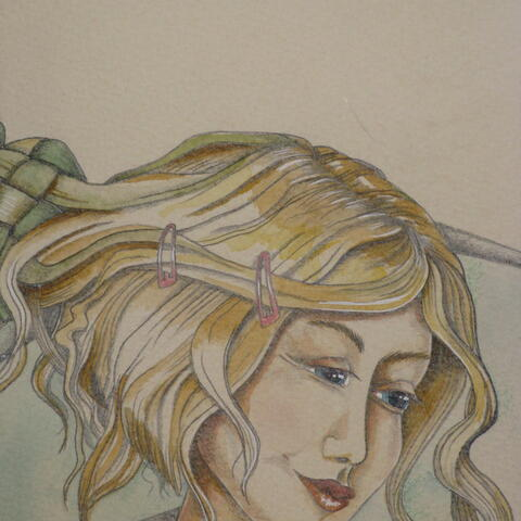 Water colour and pencil