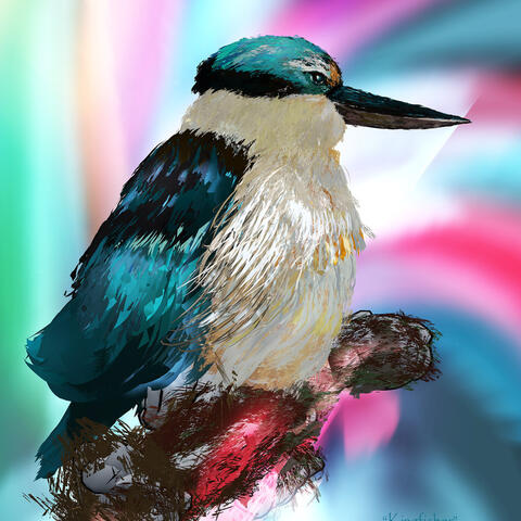 Kingfisher Tiltbrush pic