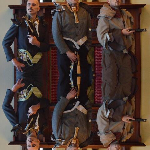 Corporate Pirates/ Suits of Armor Jewelry Suzanne Tamaki Steampunk guns and swords Phil Chez