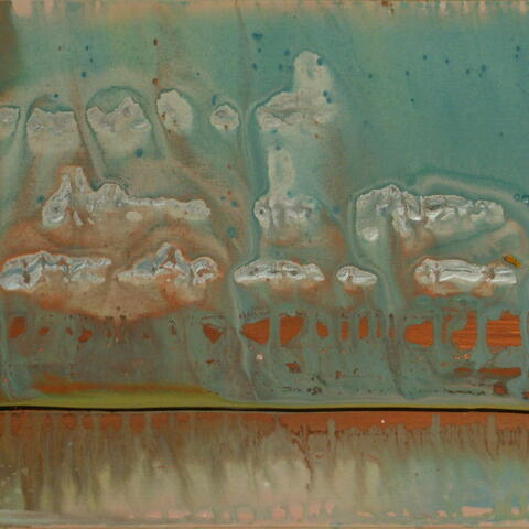 acrylic, abstract, weather, Canterbury, blue, yellow