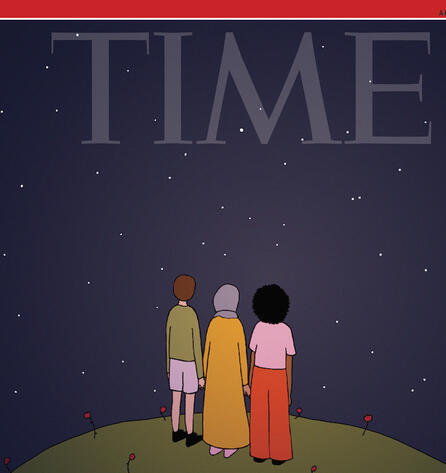 Ruby Jones cover for TIME magazine