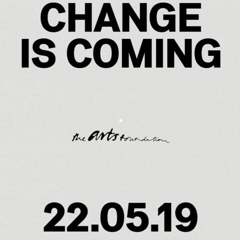 Arts Foundation_Change announcement