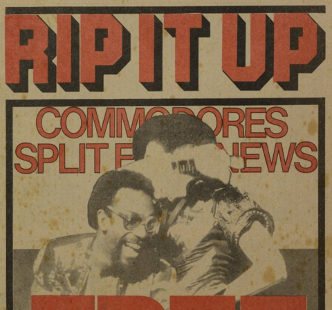 the first ever Rip It Up cover, June 1977