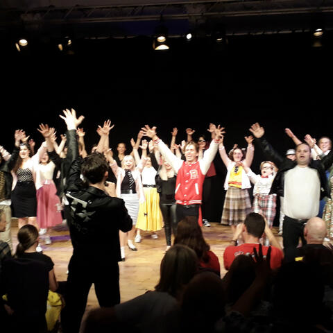Nelson Youth Theatre performing Grease at Edinburgh Fringe - supplied