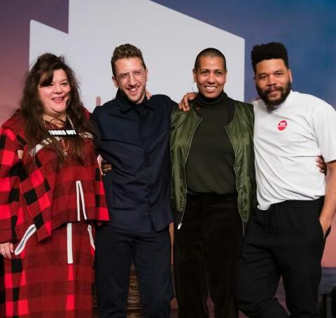 Four winners of the Turner Prize. Source: CNN