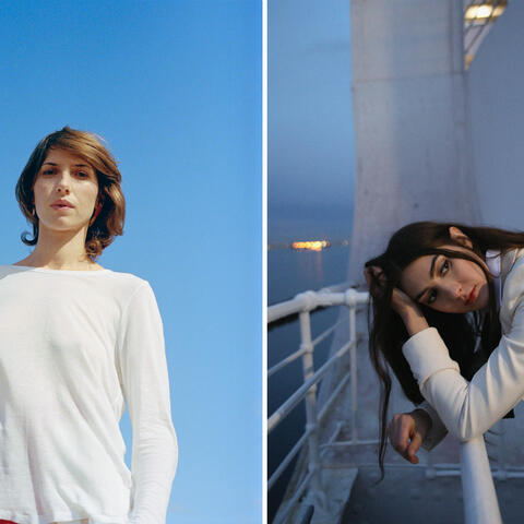 Those performing in this year's AAF include Aldous Harding (photo: Clare Shilland) and Weyes Blood (photo: Kathryn Vetter Miller)