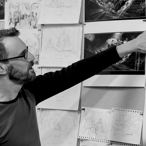Paul Tobin, Art Director Weta Workshop and Master of Design Supervisor Massey University.