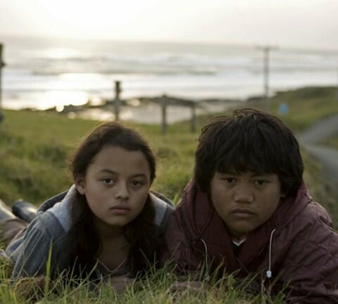In The Strength of Water 10-year-old twins Kimi and Melody live happily in an isolated Maori community until the arrival of enigmatic stranger. Photos: NZ Film Commission