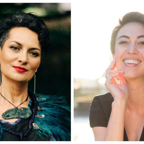 Singers Ariana Tikao and Bianca Andrew, join the NZSO players this Friday for Shed Series – Voice, part of the Orchestra's weekly free streamed performances.
