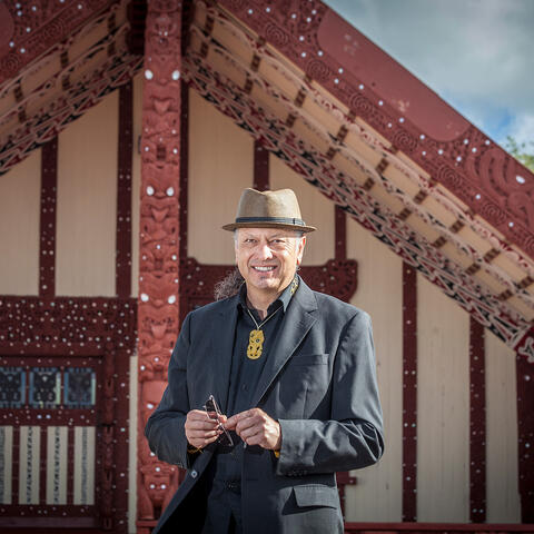 Derek Lardelli. Photo courtesy of Creative New Zealand, photographer: Andrew Warner