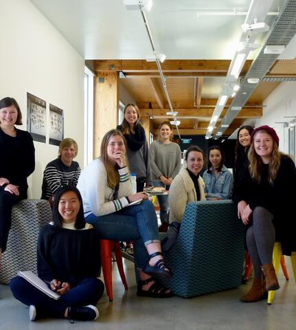 From Left to right: Jo Bailey, Nick Kapica, Tzu-Shiuan Huang, Rachael van Wieringen, Sarah Joubert, Nicki Gordon, Katie Deller, Maggie Meiklejohn, Nicole Gesmundo, Franziska Steinkohl, Calvin Lai