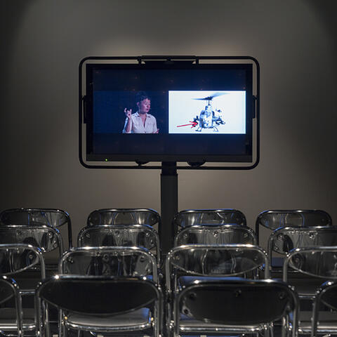 Hito Steyerl's impressively inventive, complicated yet compelling lecture Is a Museum a Battlefield.