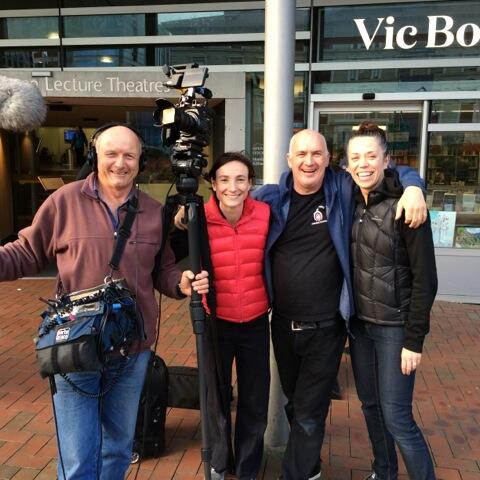 Wrap photo at end of Victoria 2014 campaign.