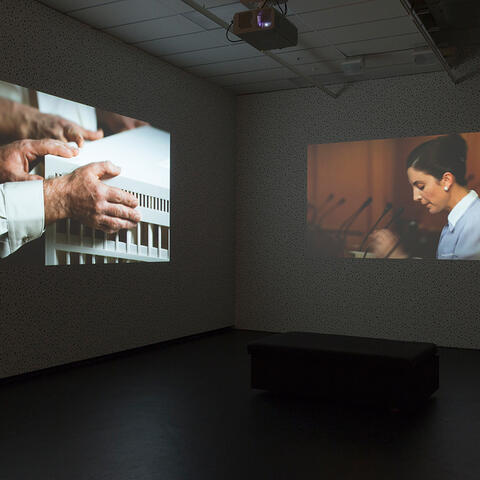 Demented Architecture installation view at City Gallery Wellington, 2015