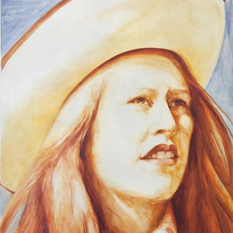 Irene Ferguson, Country Singer 2, Oil on linen, 835 x 660 mm, 2010. Images courtesy of the artist and Suite.