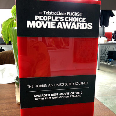 The TelstraClear Flicks.co.nz People's Choice Movie Awards