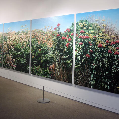 Karl Maughana - Clear Day install shot