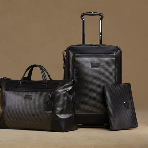 Tumi expandable luggage collection