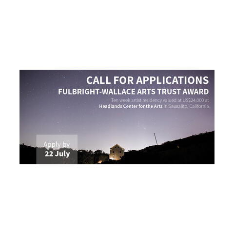Call for applications: Fulbright-Wallace Arts Trust Award