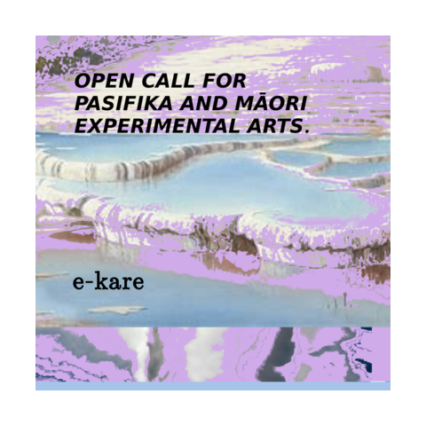 open call for APOAPO - a festival of Pasifika and Māori experimental artistss