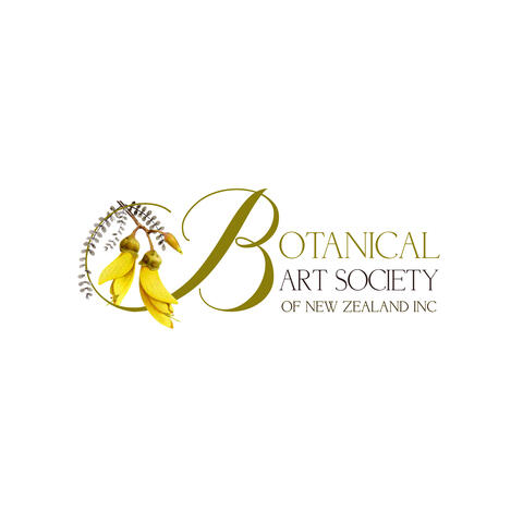 Botanical Art Society of New Zealand logo