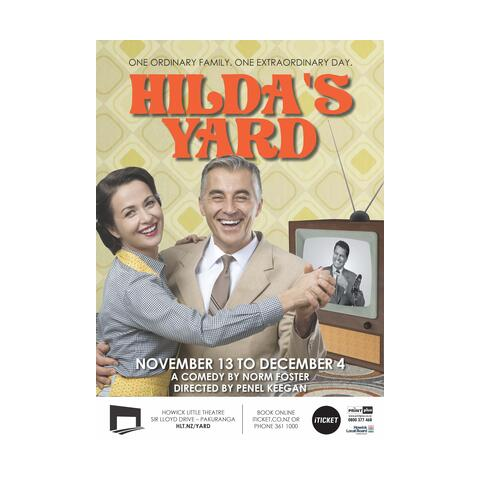 Auditions for Hilda's Yard set in 60s NZ