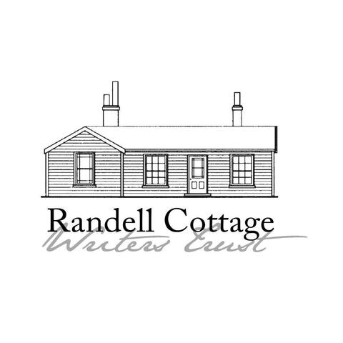 Randell Cottage logo comprising an architect's drawing of the cottage