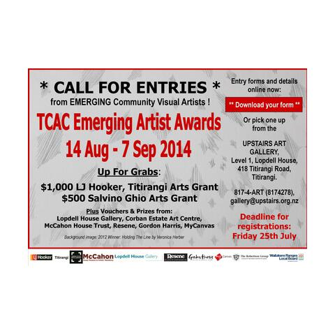 TCAC Emerging Artist Awards 2014