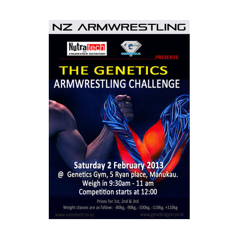 Auckland Armwrestling Champs