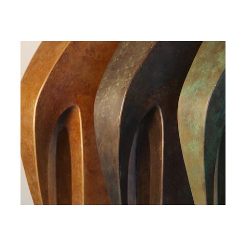 sculpture opportunity - cnc cad copper and steel fabrication