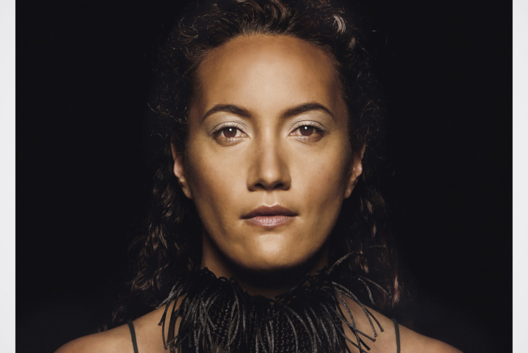 Ria Hall, image kindly supplied by NZ Music Commission