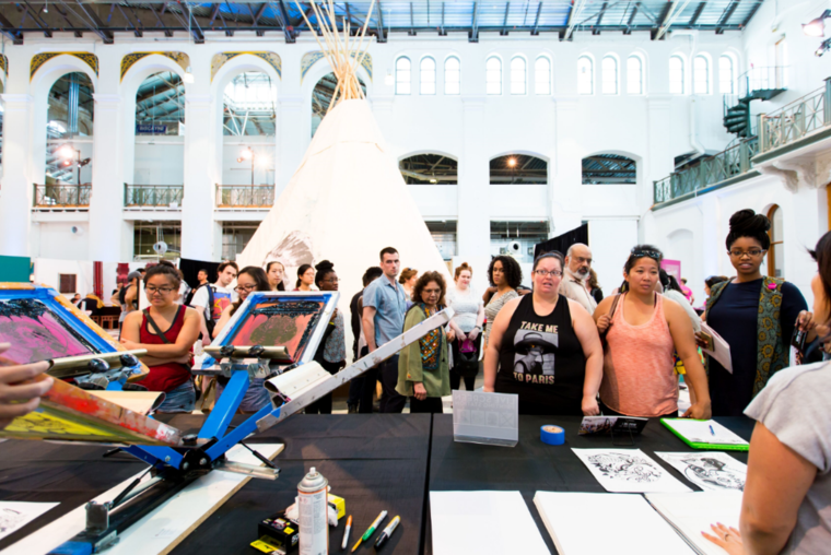 CrossLines: A Culture Lab on Intersectionality presented by the Smithsonian Asian Pacific American Center at the Smithsonian Arts and Industries Building in Washington, D.C. (May 2016). Photo by Les Talusan.