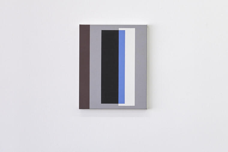 Gordon Walters, [Untitled], 1991, acrylic on canvas, 505 x 405 mm, Image courtesy of the Walters Estate.