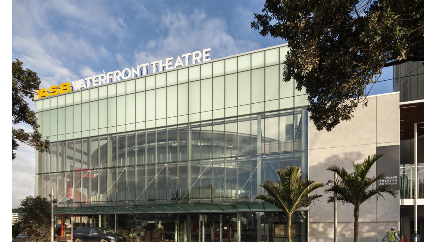 Curtain raised on Auckland's spectacular new ASB Waterfront